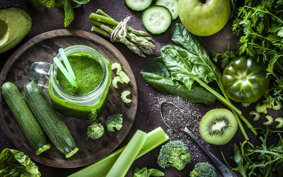 Foods containing chlorophyll