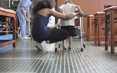 Walking safely can be a consideration with Dravet syndrome