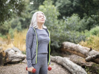 Breathing exercises with COPD