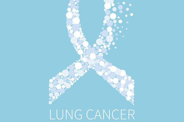 lung cancer awareness ribbon as you become a lung cancer advocate