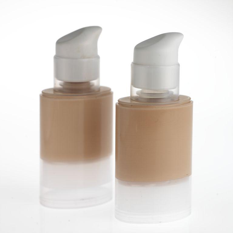 Foundation makeup for acne
