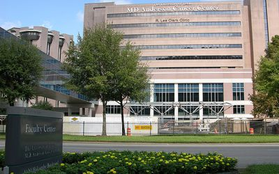 The University of Texas MD Anderson Center in Houston, Texas