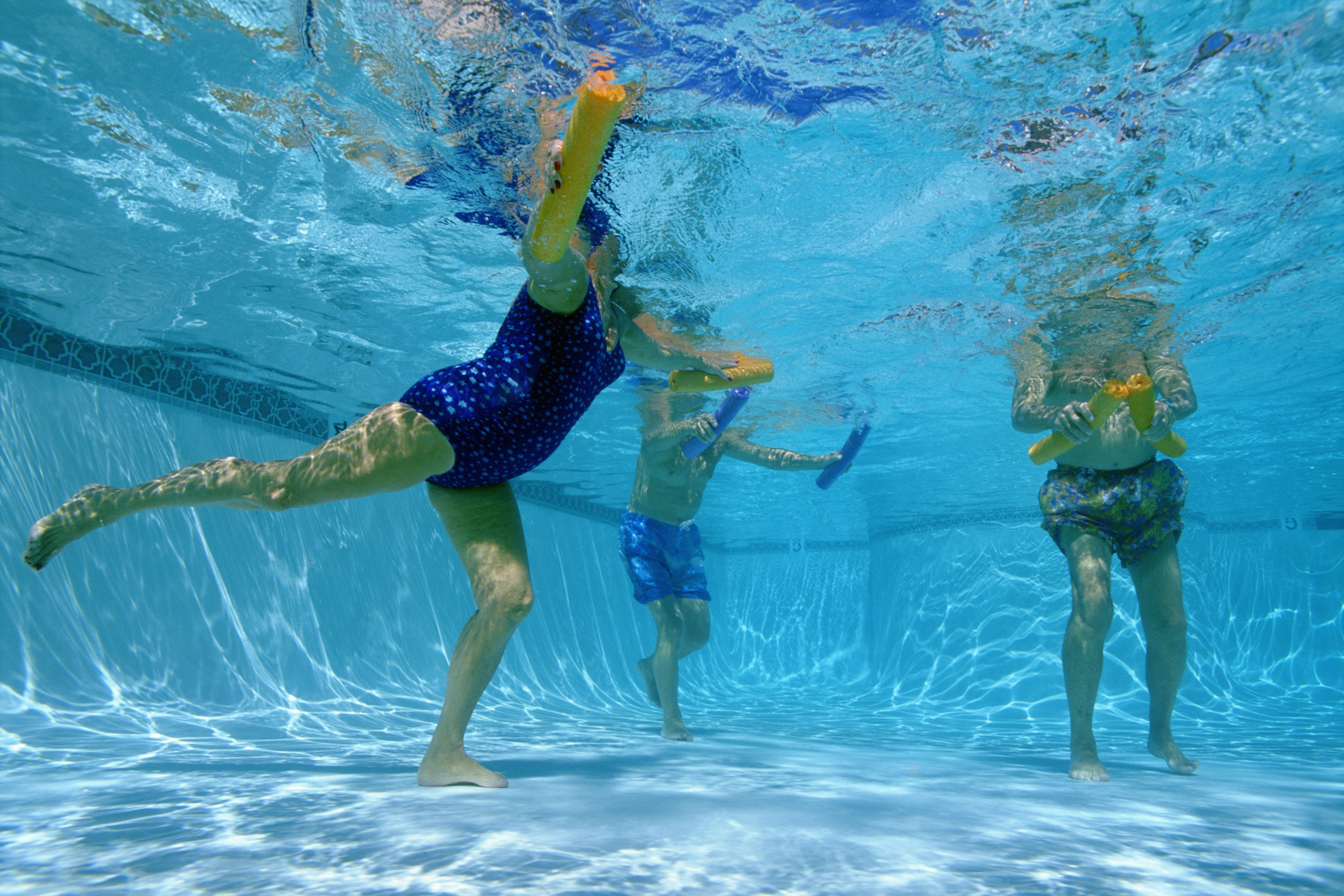 Water exercise can be good for your back.