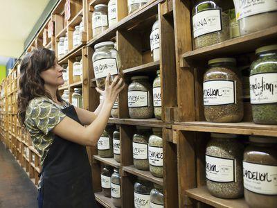 Herbal remedies in store
