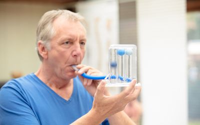 Breathing tests are part of COPD diagnosis