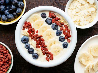 Yogurt bowl with fruit