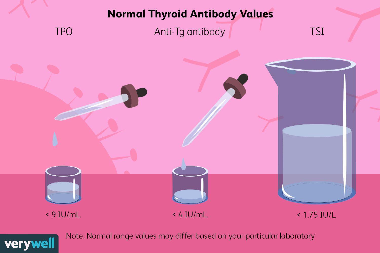 Normal Thyroid Antibody Values