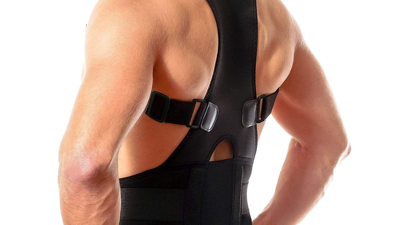 Neoprene Lumbar Support Brace Pain Relief Lower Back Belt Adjustable Waist Strap
