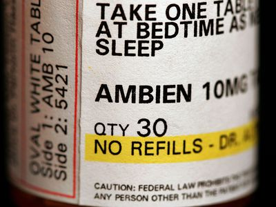 Rebound insomnia occurs when stopping Ambien abruptly due to its half-life