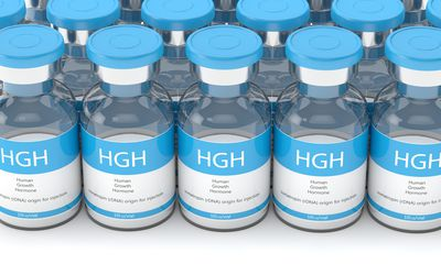 Human growth hormone vials for injection