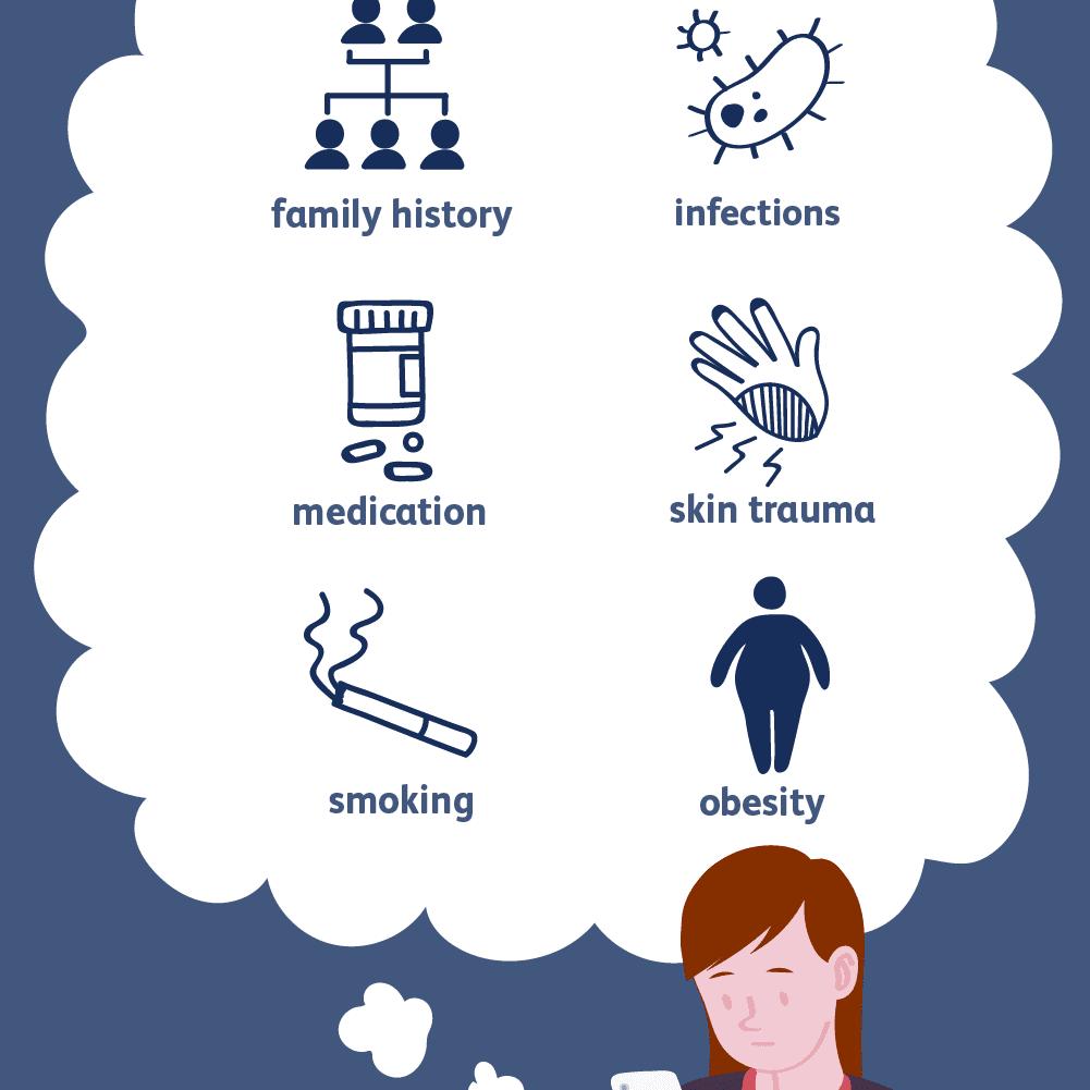 psoriasis lifestyle factors a seborrheás pikkelysömör kezelése a fején