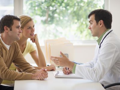 couple with a doctor