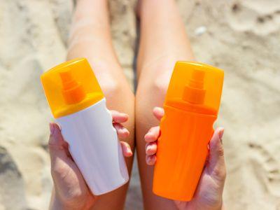 sunscreen v. sunblock