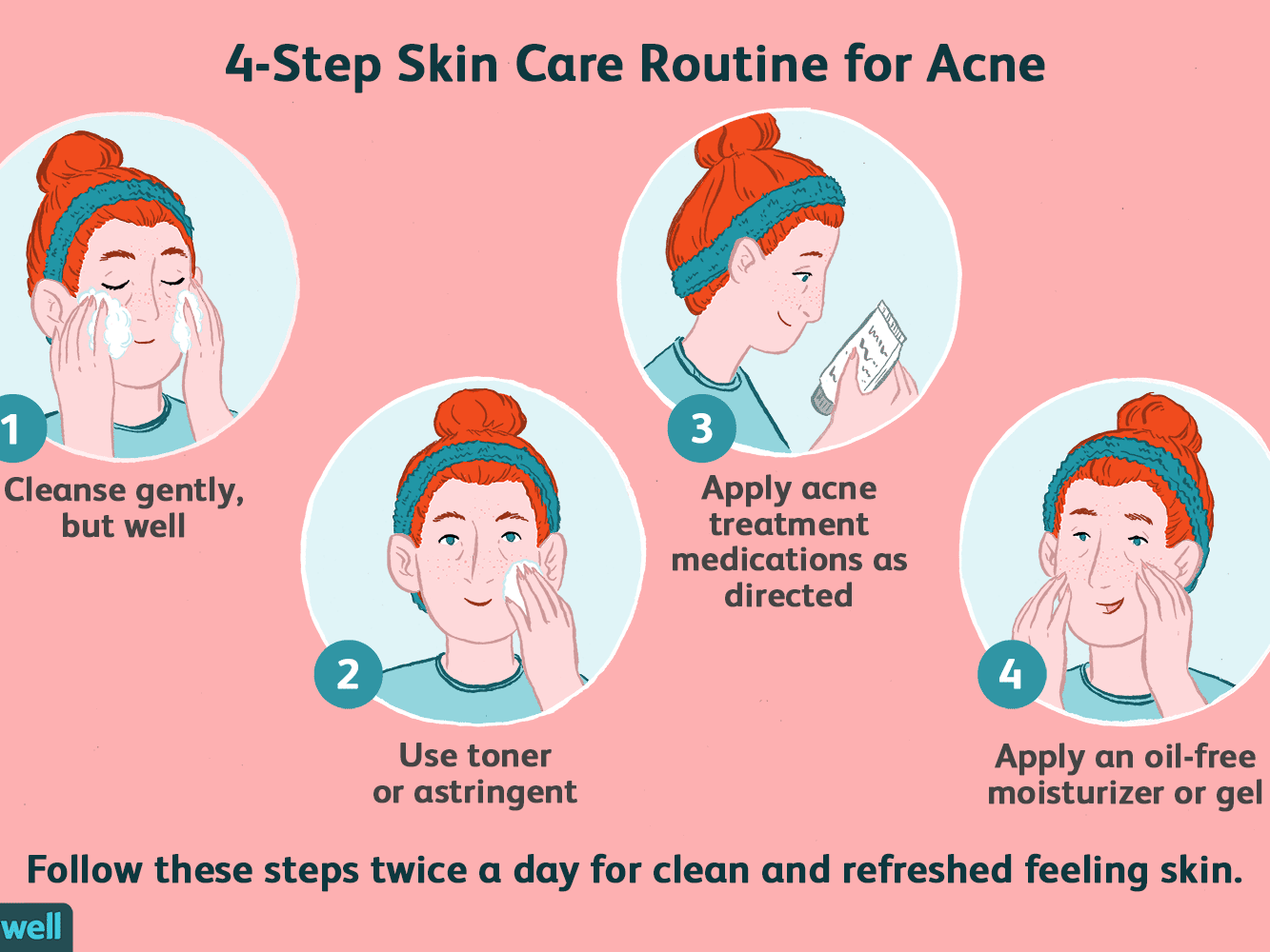 The Best Skin Care Routine For Acne