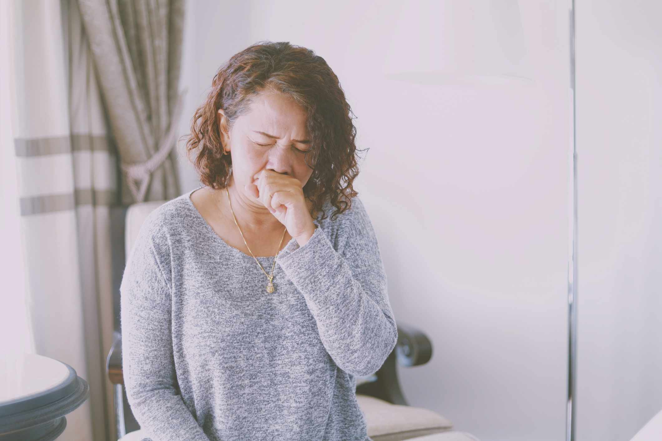 woman with cough might be prescribed benzonatate