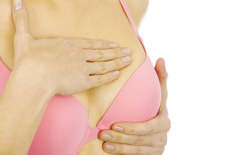 Examining breast