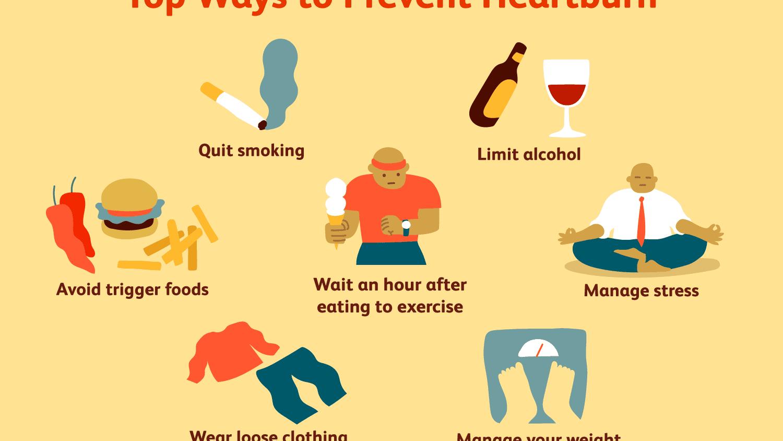 How to Prevent Heartburn