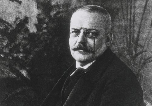 Portrait of Alois Alzheimer