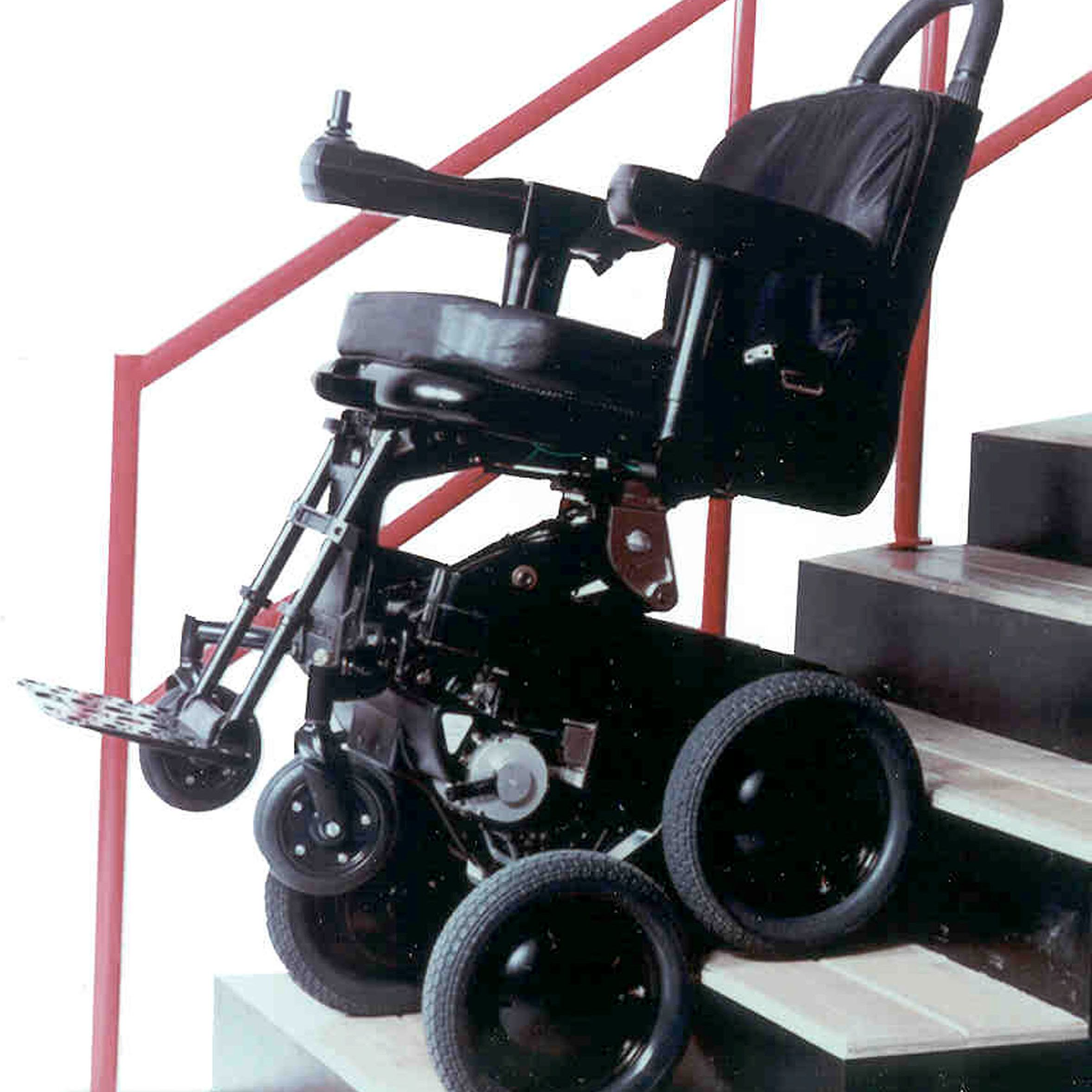 Stair-Climbing Wheelchair: iBOT Mobility System
