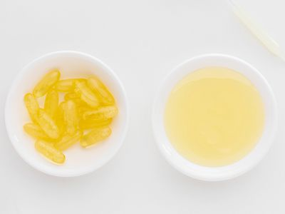 Emu oil and gel capsules