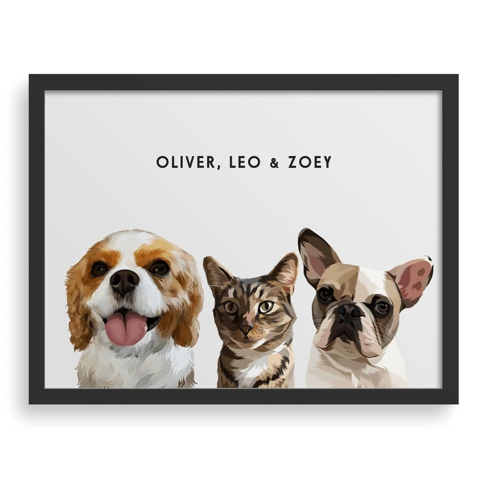 West and Willow Custom Pet Portraits