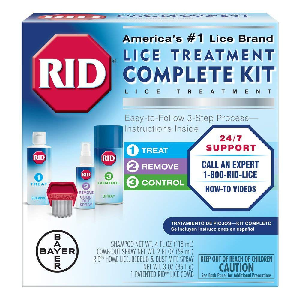 Best Overall: RID Lice Treatment Complete Kit
