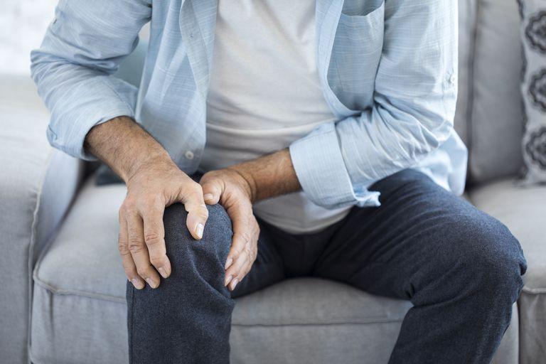 Knee pain in older man