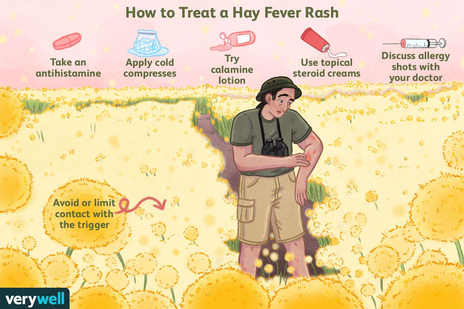 How to Treat a Hay Fever Rash