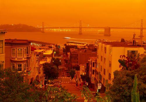 Wildfire season in California.