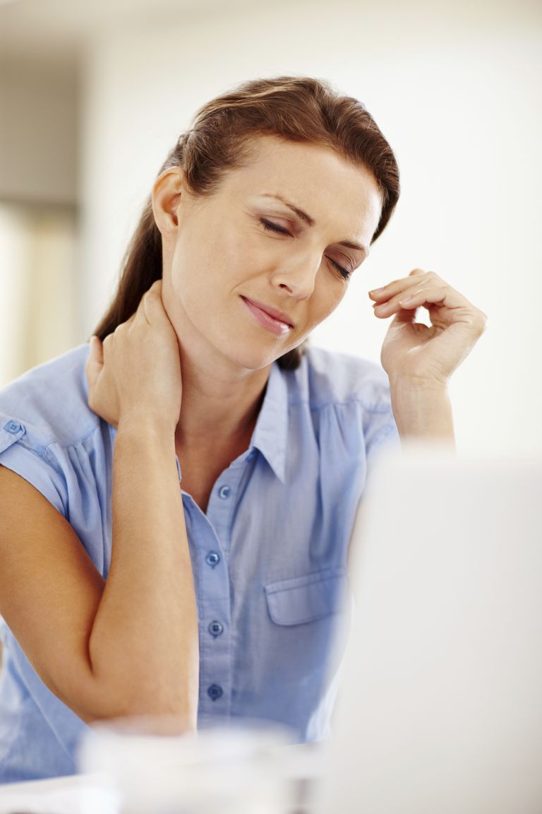 Neck pain due to pinched nerve