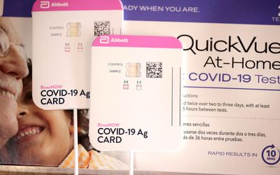 At-home COVID-19 tests by Abbott and Quidel