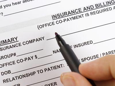 A health insurance form.