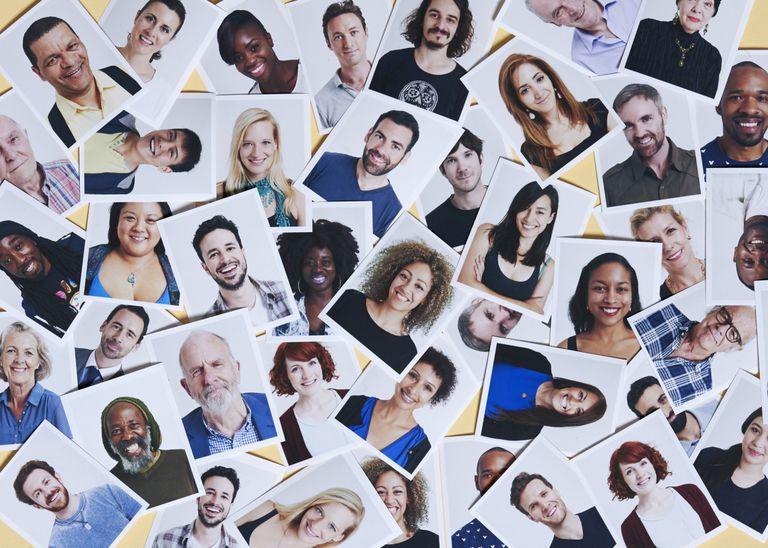 diverse portraits