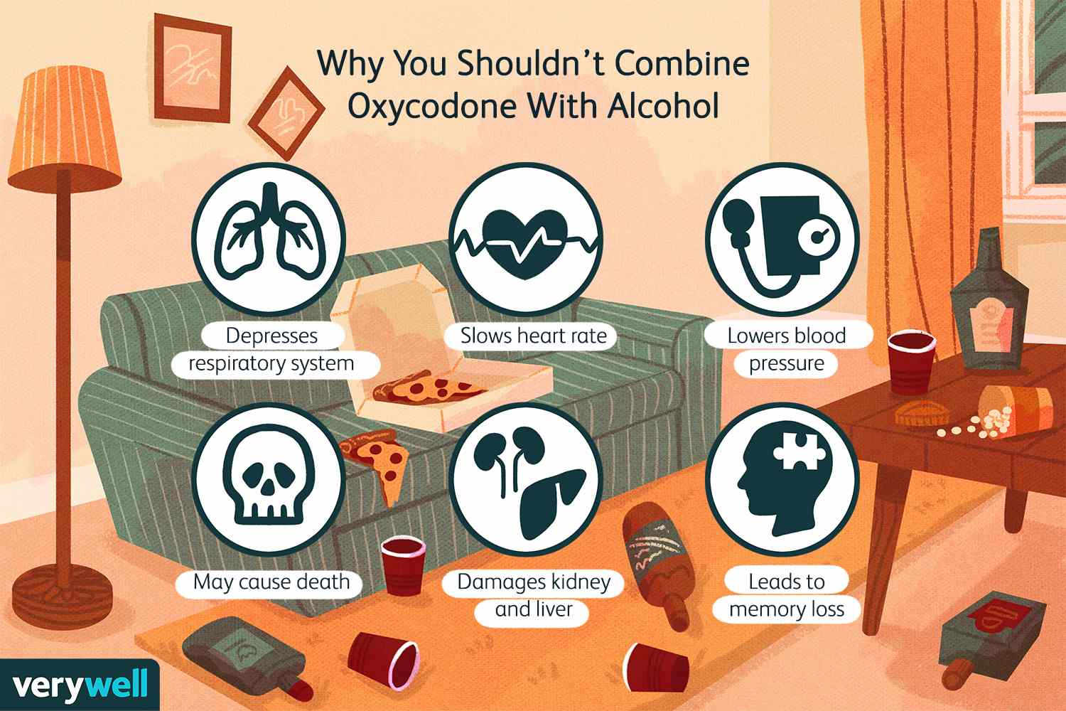 Why You Shouldn't Combine Oxycodone With Alcohol