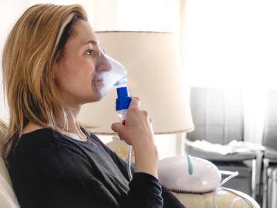 using nebulizer