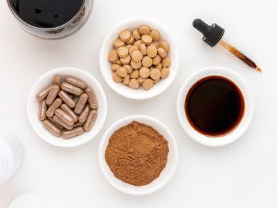 Sarsaparilla capsules, tablets, powder, and tincture
