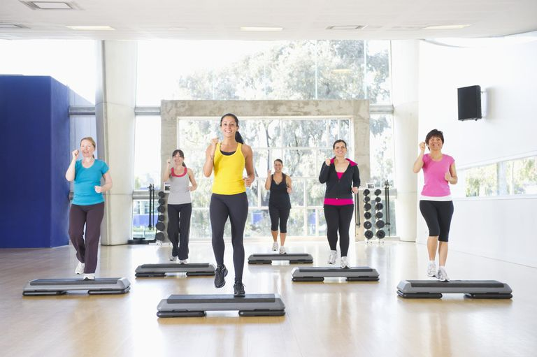 Women Doing Aerobic Exercise