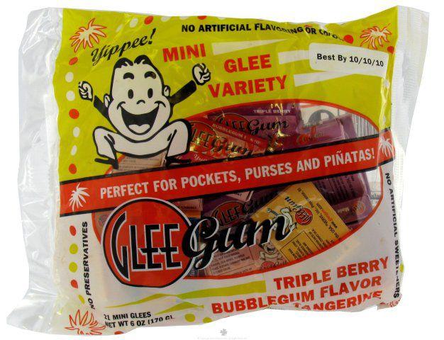 Glee Gum Mini Packs