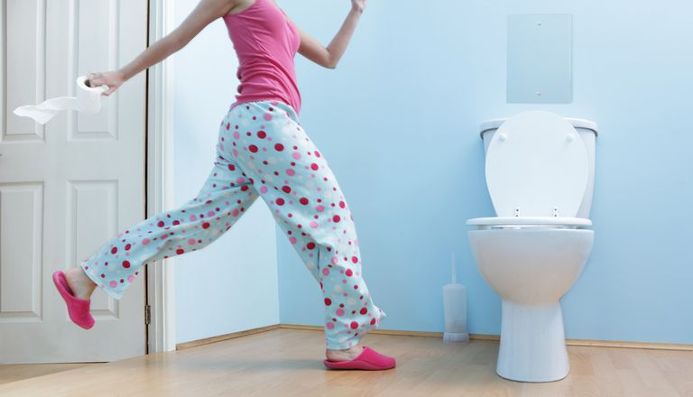 Abnormal menstruation may cause you to run to the bath frequently