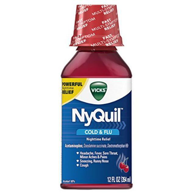 is it safe to take nyquil after drinking alcohol