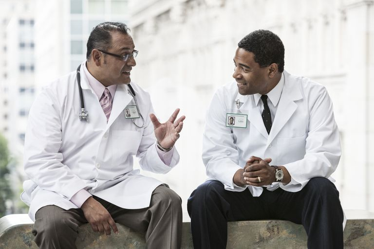 Physicians in discussion
