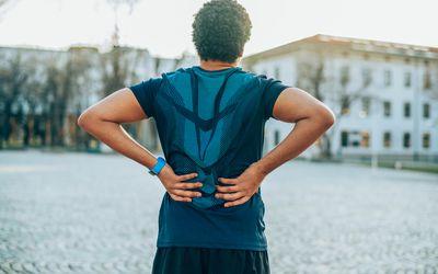Back Pain. Sport injury.