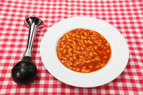 Some foods lead to flatulence